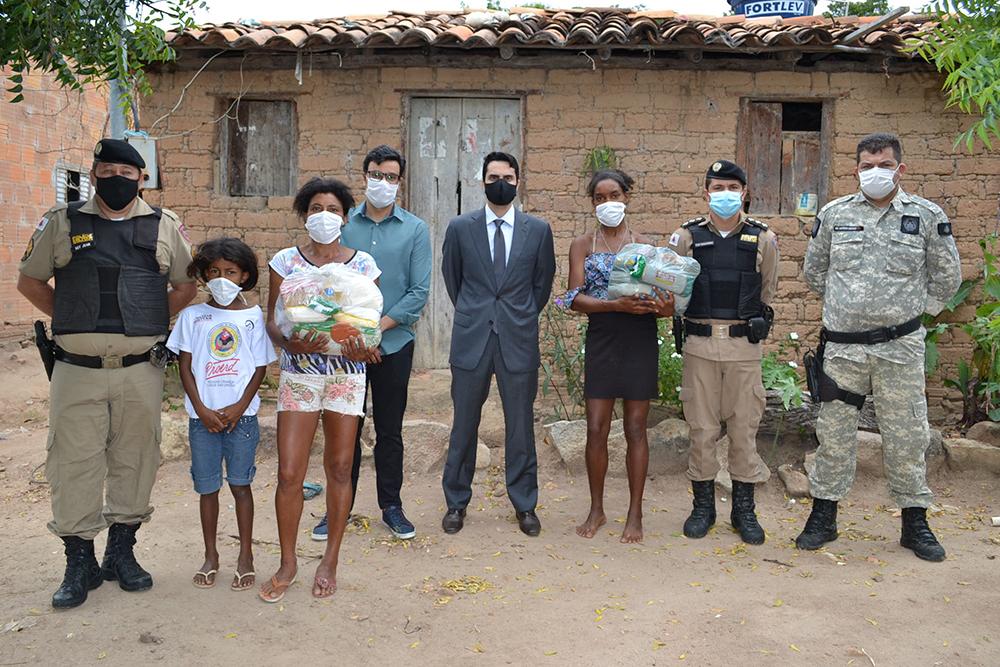 Entidades públicas da comarca de Porteirinha se unem em campanha de combate à fome.